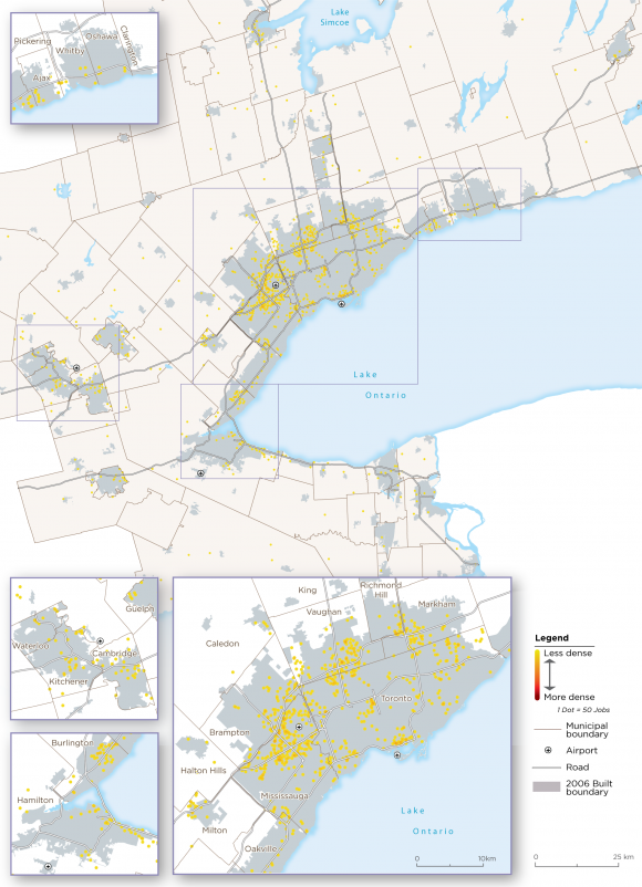 Map 23:  Other Wholesaling Archetype Employment, GGH, 2016